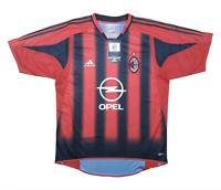 AC Milan 2004-05 Authentic Home Shirt (BNWT) M Soccer Jersey