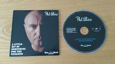 Phil Collins A Little Bit 2010 Mail On Sunday UK Promo CD UPPCMOS001 Pop Rock