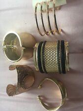 5 New Look Gold Bracelets