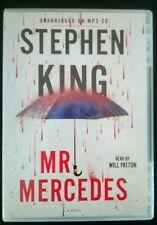 Mr. Mercedes: (MP3: 2 CDs) Stephen King: NO SHRINK