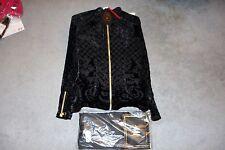 Balmain x H&M Silk-blend Velvet Blouse Black Size 4