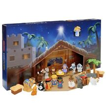 Fisher-Price Little People Nativity Play Set & 25 Play Pieces Advent Calendar
