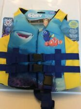 Disney Finding Dory Life Jacket Child 30-50 Lbs Leg Strap By SwimWay