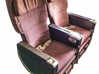 Qantas Boeing 747-400 Premium Economy Double Seats