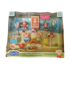 Peppa Pig Peppa's Family Beach Day 13 Pieces Kids Toy Gift