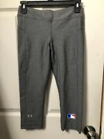 Under Armour Heat gear Capri Compression Pants Gray Size Small LN