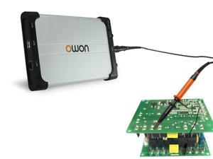 OWON VDS1022 USB PC Digital Storage Portable Oscilloscope 25MHz 2+1 CH 100MS/s