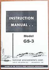 Manual contador Geiger