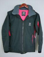 XII512 Women Haglofs Proof Skiing Snowboarding Waterproof Jacket Size M UK12