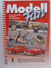 Modell Fan Magazine - Heft 1 January 2001 GERMAN TEXT