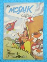 "MOSAIK Digedags Nr. 3 ""Die Bimmel-Bummelbahn"" Hannes Hegen 1956"