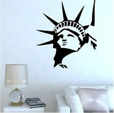 Statue Of Liberty New York Wall Decal Sticker Home Decor Vinyl Art Living  Room
