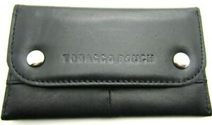 Unisex New High Quality Soft Sheep Nappa Leather Tobacco Pouch Wallet Holder