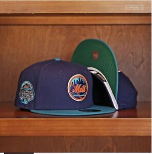 MyFitteds New York Mets 2013 All Star Game Patch Islanders Theme Green UV 7 3/8