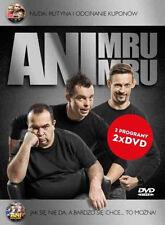 Kabaret Ani Mru-Mru - Jak się nie da.../ Nuda. rutyna...  (DVD 2 disc) POLSKI