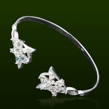 Lotr Elf Princess Arwen Star Bracelet Pretty 925 Sterling Silver Cubic Zirconia