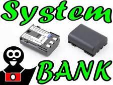 Batteria POTENZIATA NB-2LH CANON EOS 350D 400D S50 S60 S70 S80 G7 G9 S30 S40 S45