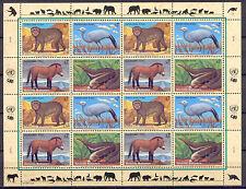 Ameisenbär, Affe, Vogel, Pferd - Uno-Wien - 1 KB ** MNH 1997