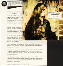 """DOLORES KEANE lion in a cage DKS4 with press release sheet ringsend 7"""" PS EX/EX"""