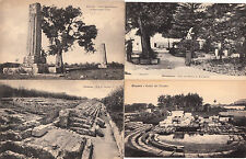 Lot 4 cartes postales anciennes ITALIE ITALIA ITALY SIRACUSE SIRACUSA 2