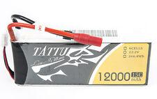 Tattu 12000mAh 22.2V 15C 6S1P LiPo Battery Pack with AS150 XT150 Plug Drone New