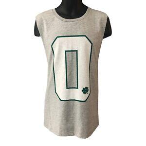 Jayson Tatum Men's Tank Singlet Boston Celtics Large Grey