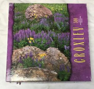 Croxley 500 Piece Jigsaw Puzzle ~ La Plata Mountains, CO ~ Hasbro MB ~ Complete