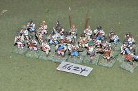 25mm ECW / english - civil war infantry 24 figures metal - inf (6624)