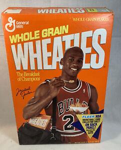 1991 Michael Jordan Chicago Bulls Wheaties Box Fleer Basketball Sheet #2 RARE