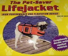 OUTWARD HOUND Life Jacket Vest Flotation Pet Saver Device SMALL 15-25 Lb Dog