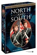 NORTH and SOUTH The Complete Collection - Books One, Two, Three DVD