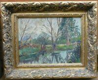 Elizabeth Lamorna Kerr (1905-1990) Signed & Framed Oil Painting Landscape/
