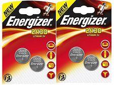 ENERGIZER CR2430 LOT DE 4 PILES au lithium 3V
