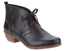 Clarks Artisan Leather Lace-up Ankle Boots - Wilrose Sage Booties Black Size 7
