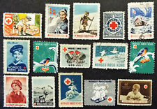 Early Norway Red Cross Stamps