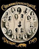 1909 Detroit Tigers Team Photo 8X10 Ty Cobb Sam Crawford #2 Buy Any 2 Get 1 FREE