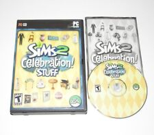 The Sims 2 Celebration Stuff PC Game Expansion Pack 2007 Complete