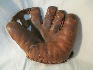 1940's Spalding Frank Frisch Split Finger Baseball Glove