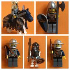 Lego Castle Fantasy Era Figuren Ritter Pferd Skelett Waffen