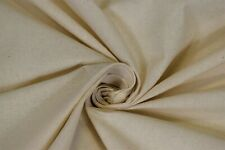 Osnaburg Rustic Muslin Natural 100% Cotton Unbleached Fabric BTY 50
