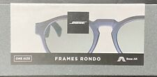 Bose Frames Rondo Audio Sunglasses Bluetooth Connectivity Black 833417-0100
