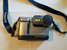 Sony Mavica MVC-FD88 1.3MP Digital Camera Metallic Gray & Black