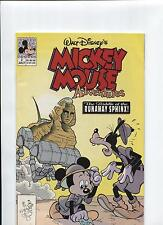 ~Never Read~ Walt Disney's Mickey Mouse Adventures~ #2 1990~ Free Ship!
