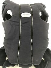 BabyBjorn Original Classic Carrier - City Black In Good Used Condition Baby Cary
