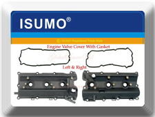 Pair of Engine Valve Cover with Gasket L/R Fits: I35 Altima Maxima Murano Quest