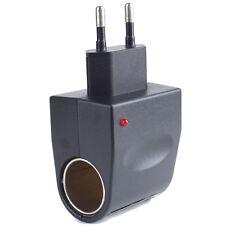(EU 220V to 12V) DC 500mA  Wall Power to Car Cigarette Lighter Adapter Converter