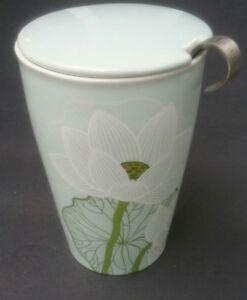 Tea Infuser Cup Forte Kati Lotus Travel Mug