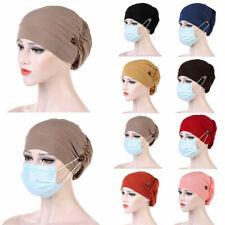 Cancer Hat Chemo Cap Women Muslim Hair Loss Turban Head Wrap Cover Head Scarf