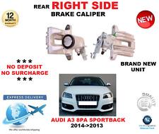 FOR AUDI A3 8PA SPORTBACK 2004->2013 REAR RIGHT SIDE BRAKE CALIPER OE QUALITY