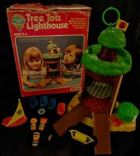 RARE Vintage KENNER Tree Tots Family Treehouse Lighthouse Complete + Box EUC HTF